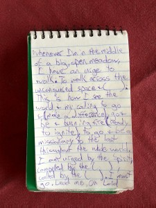 from Jimmy's Journal