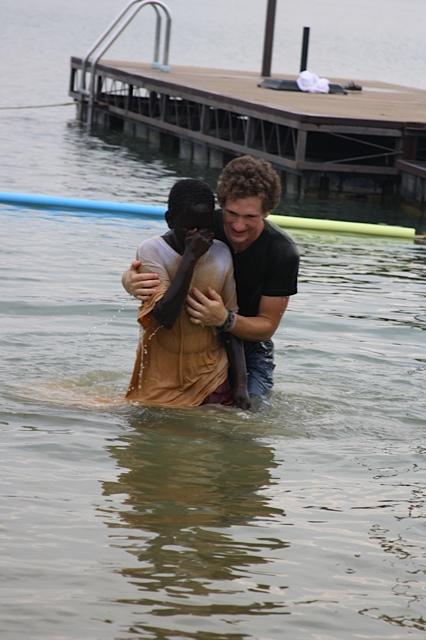 JB- Baptizing