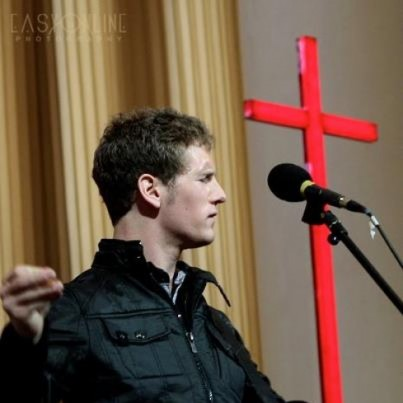 Chandler leading Worship- Beijing, China