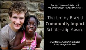Jimmy Brazell Community Impact Scholarship- 2013