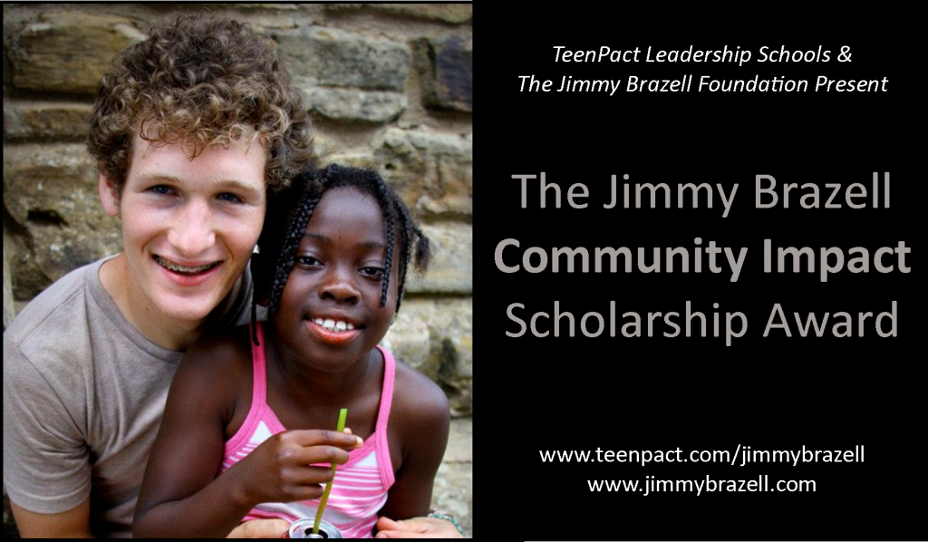 Jimmy Brazell Community Impact Scholarship- 2013