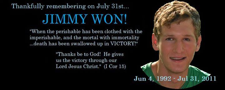 Jimmy Won!